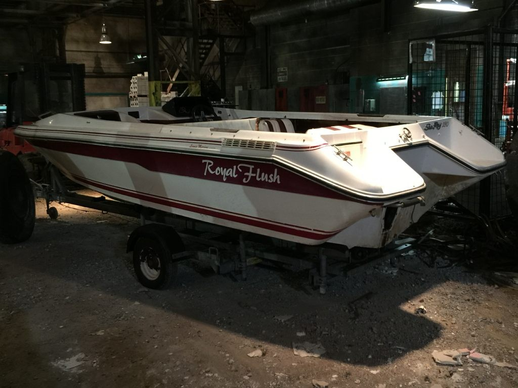 Prop Boat for Movie Set