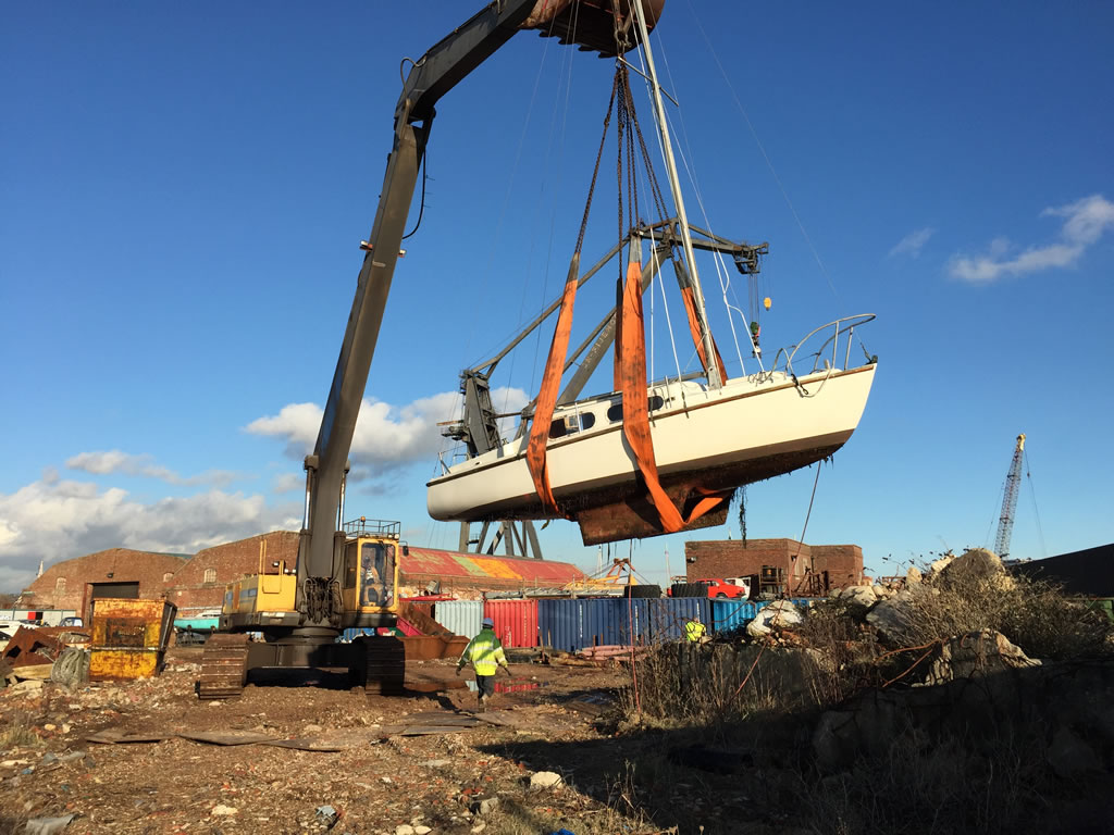 Yacht Disposal: Scrap Boats Never Come Quietly