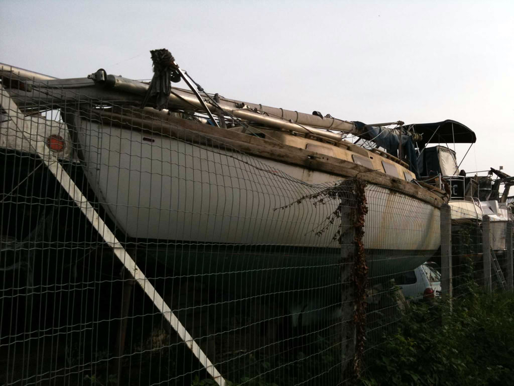 Boatbreakers News - Yachting Monthly Article: Harbours 'clogged by unwanted yachts'