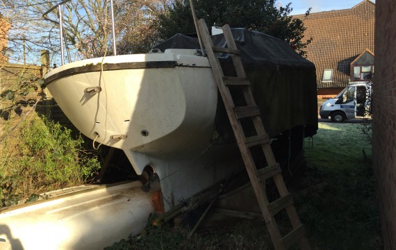 Boatbreakers News - Scrapping a Yacht that had never been to Sea