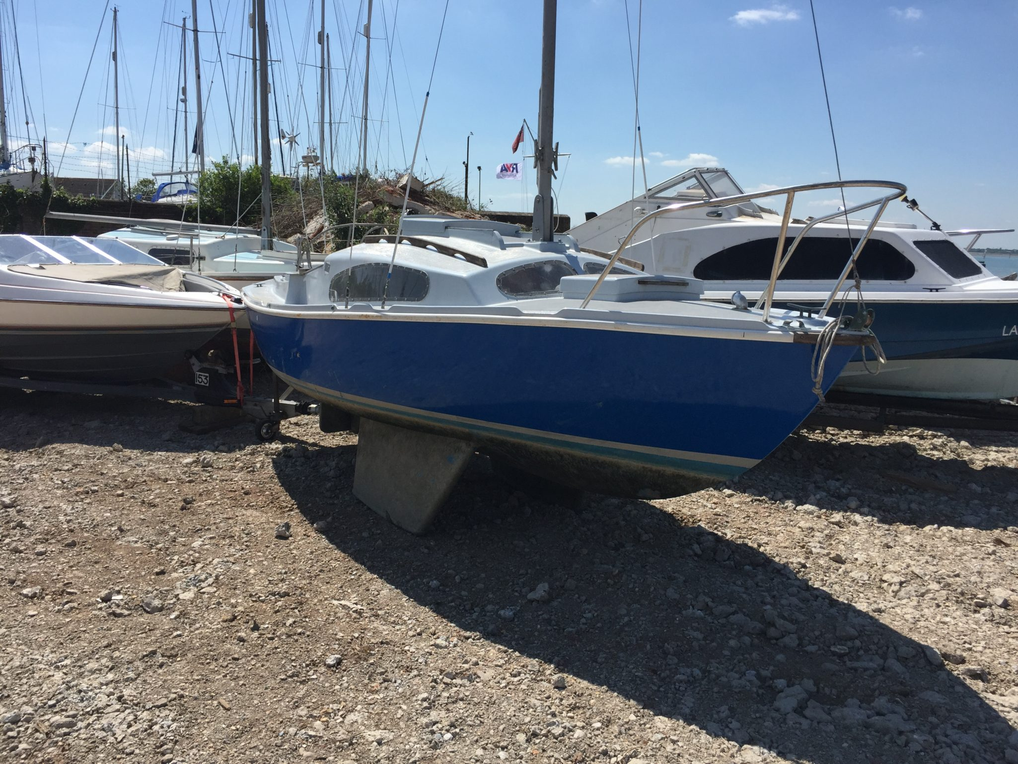 Boatbreakers News - Latest Arrivals to the Boatbreakers Yard