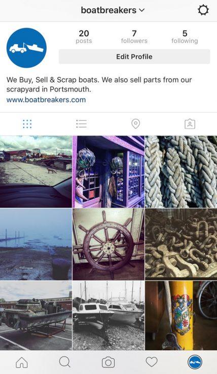 Boatbreakers are on Instagram