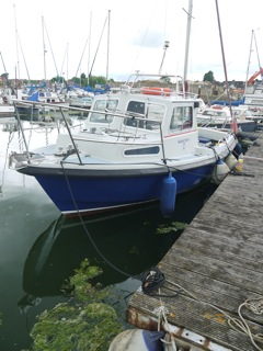 Boatbreakers News - Our New Work Boat!