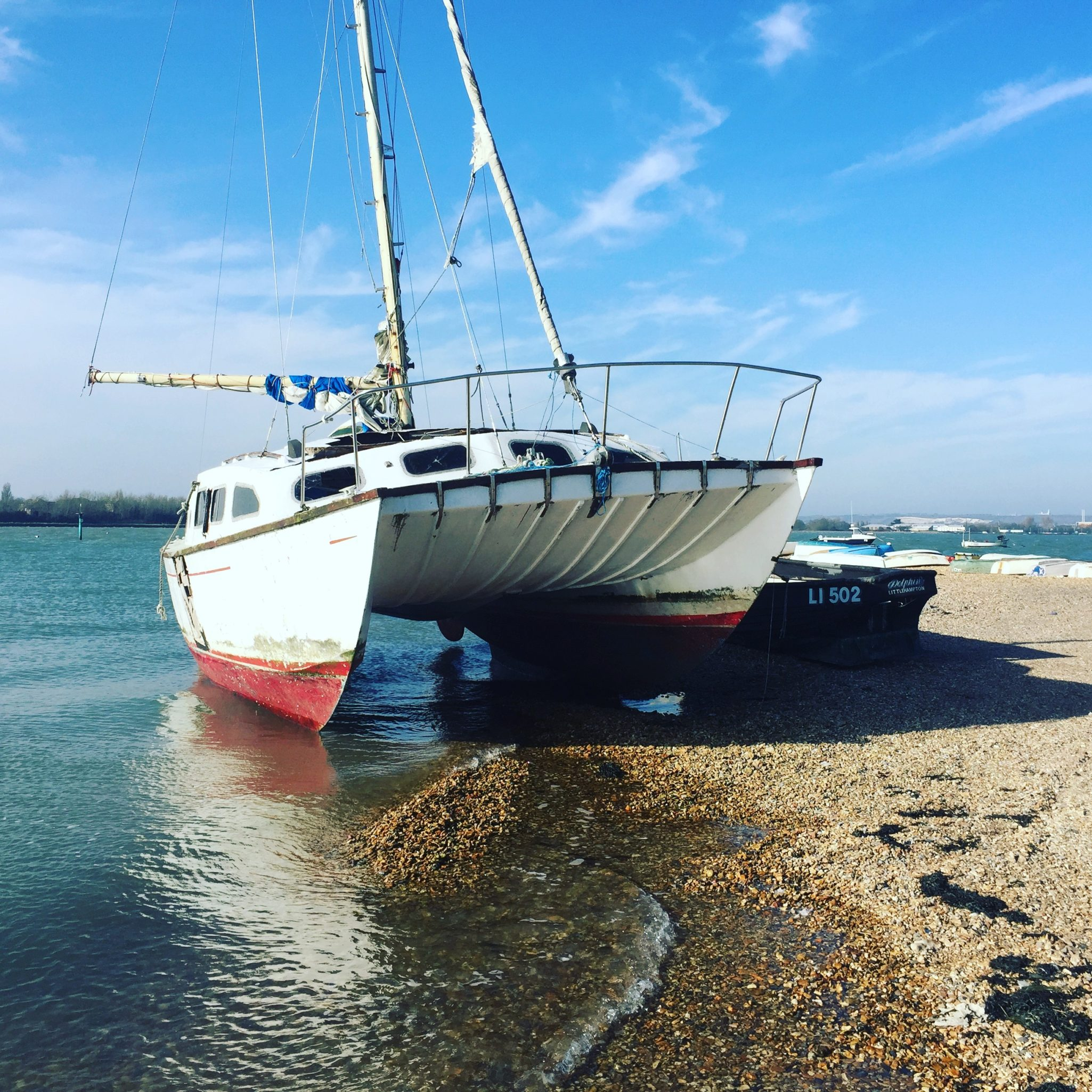 Boatbreakers News - Abandoned Boat on Eastney Beach