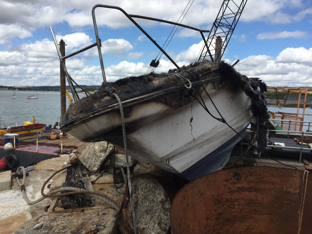 Boatbreakers News - Boat Disposal Interview - Discussing The End of Life Process