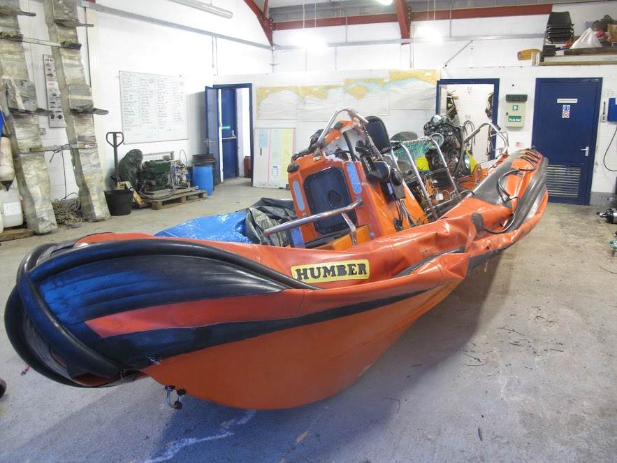 Boatbreakers News - Latest Scrap Boat - Written off Humber RIB