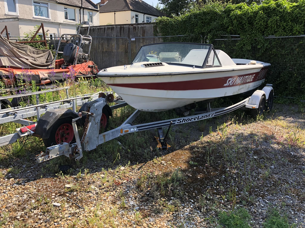 Scrap Ski Nautique Speedboat