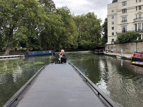 London Narrowboat move for The Ship Brokers