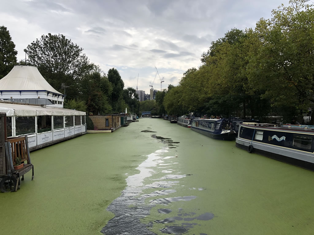 London Narrowboat move for The Ship Brokers