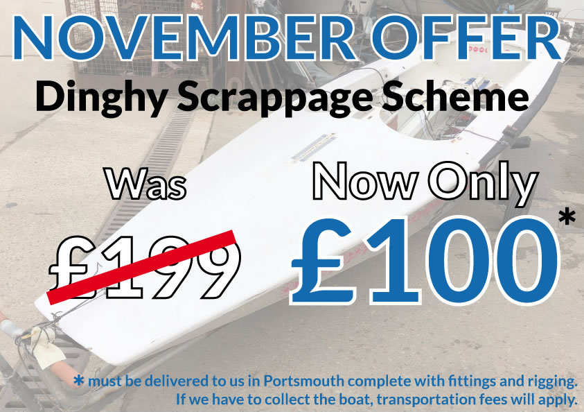 November Dinghy Scrappage Scheme
