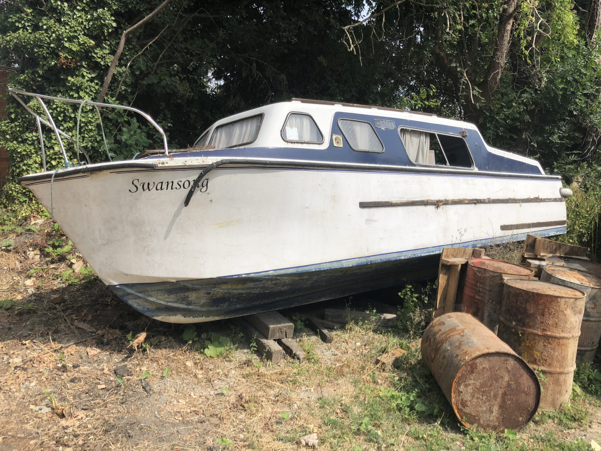 Scrap Boat Corner