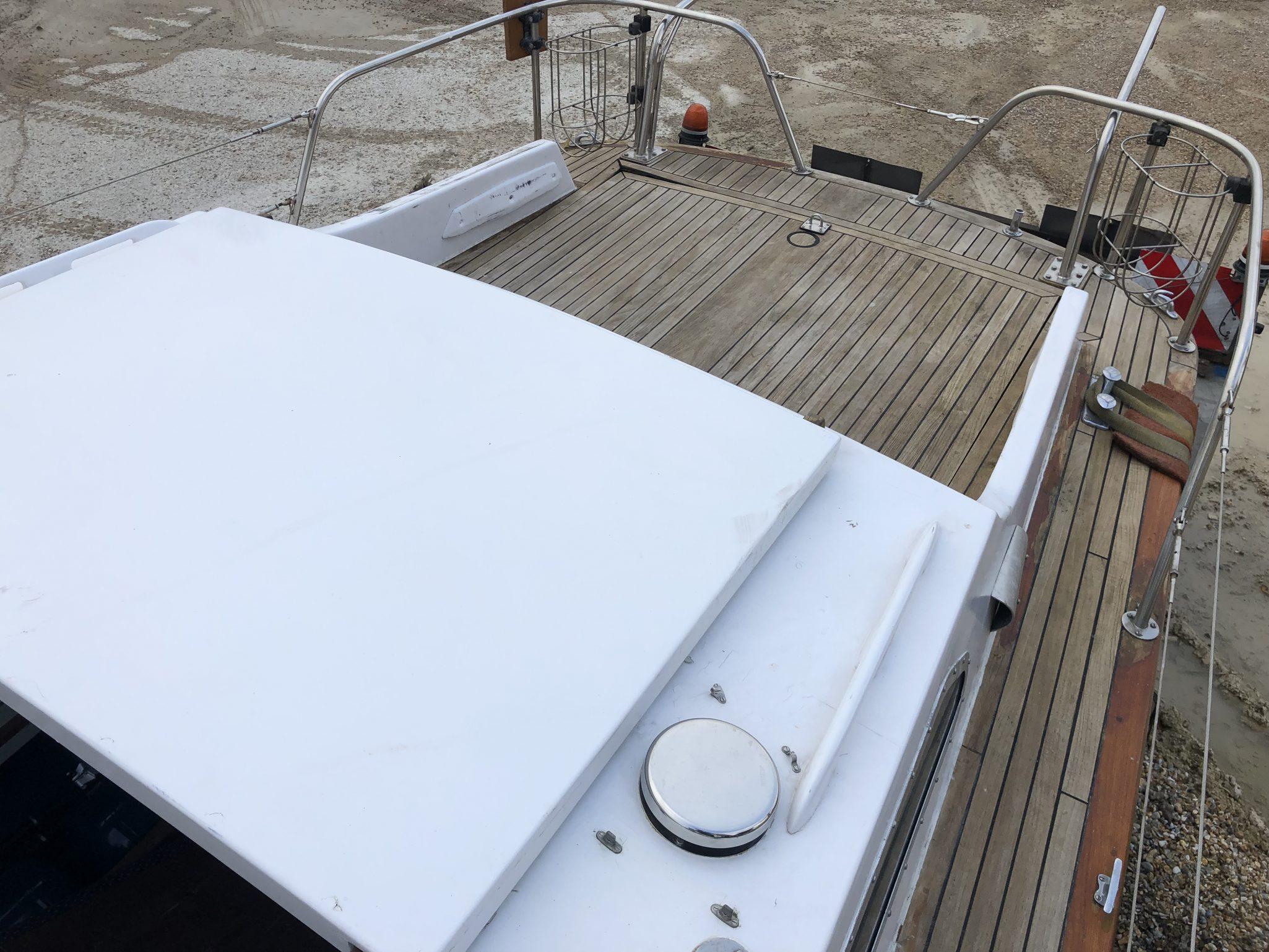 Dell Quay Ranger 27 in for Scrap
