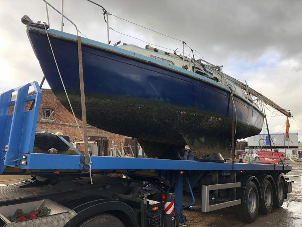 Sunken Yacht in Emsworth