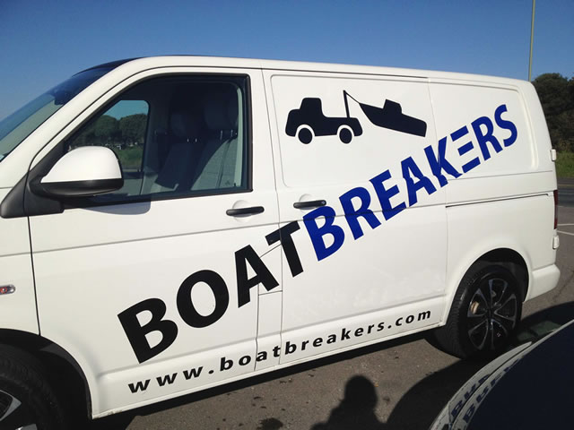 Boatbreakers Partnership Opportunities - Boatbreakers Van