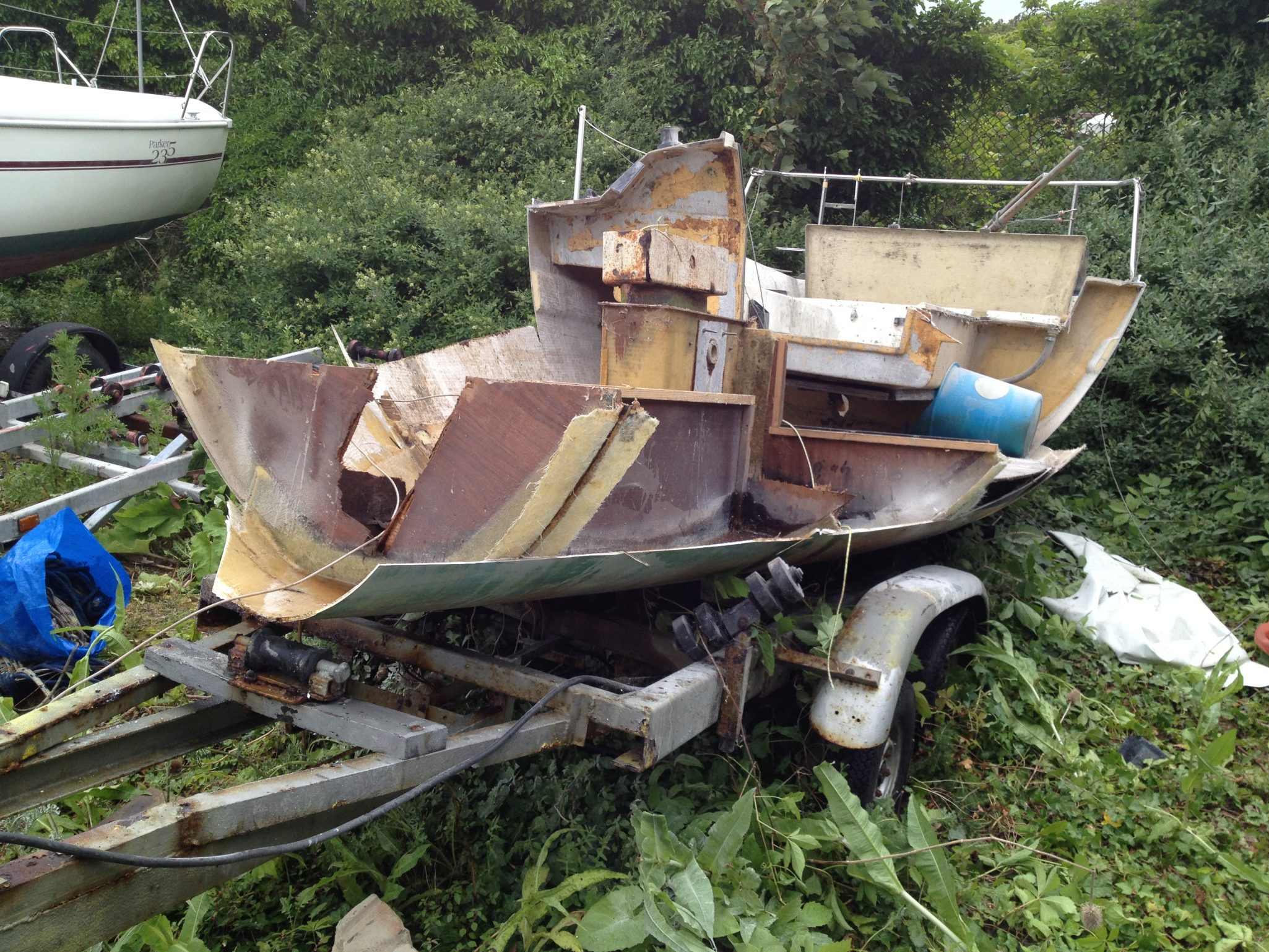 Danger of Old Fibreglass Boats