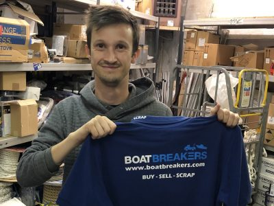 New Team Member - David Joins Boatbreakers