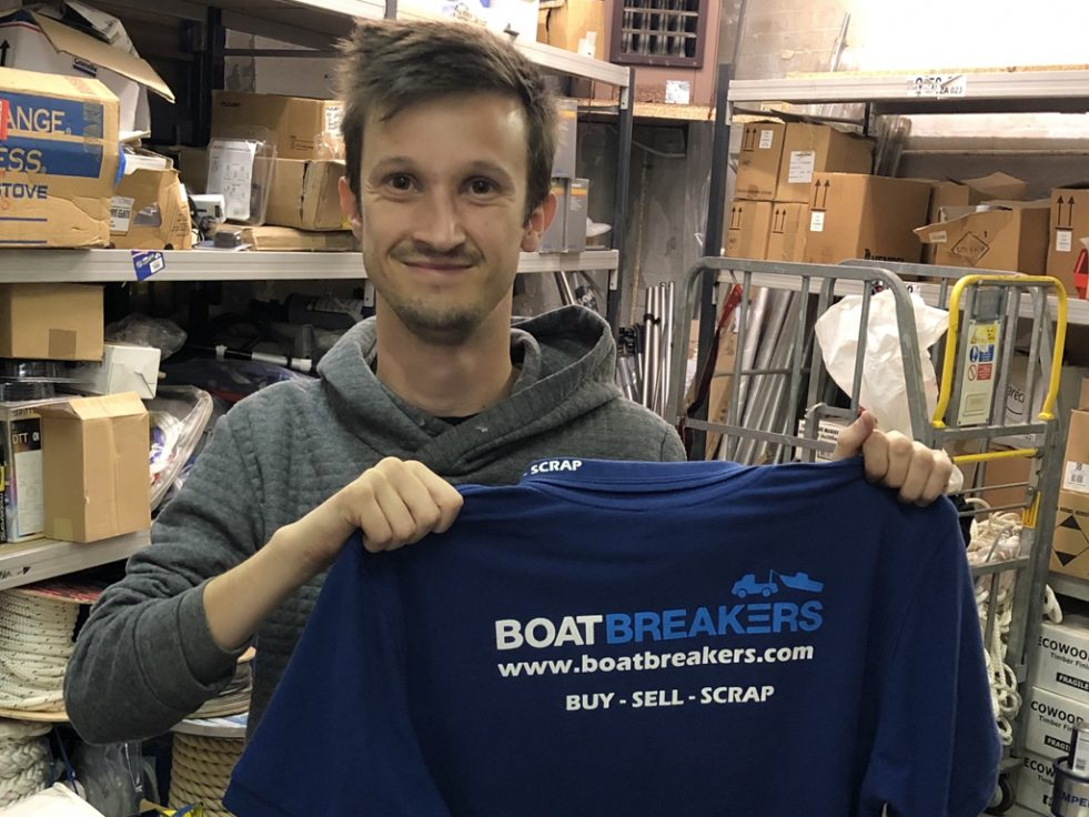 New Team Member - David Joins Boatbreakers