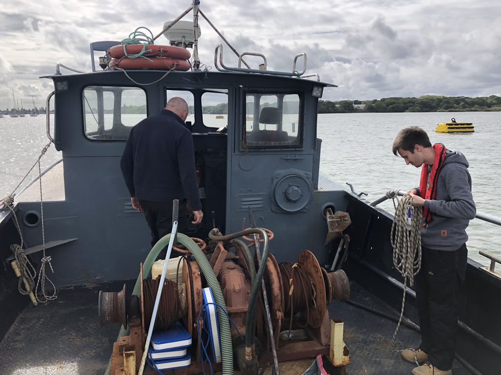 Scrap Yacht Collection - Getting the ropes ready