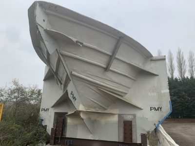 Disposal of Luxury Yacht Mould