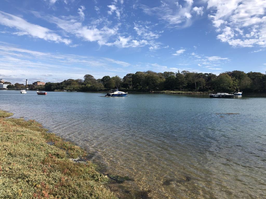 Gosport Park Derelict Boats