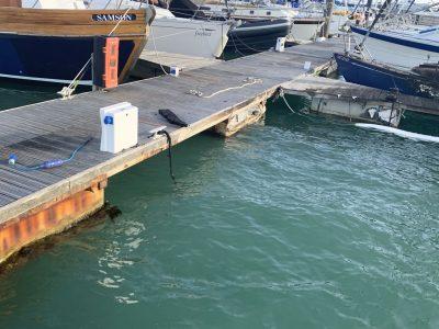 Sunken Burnt Boat