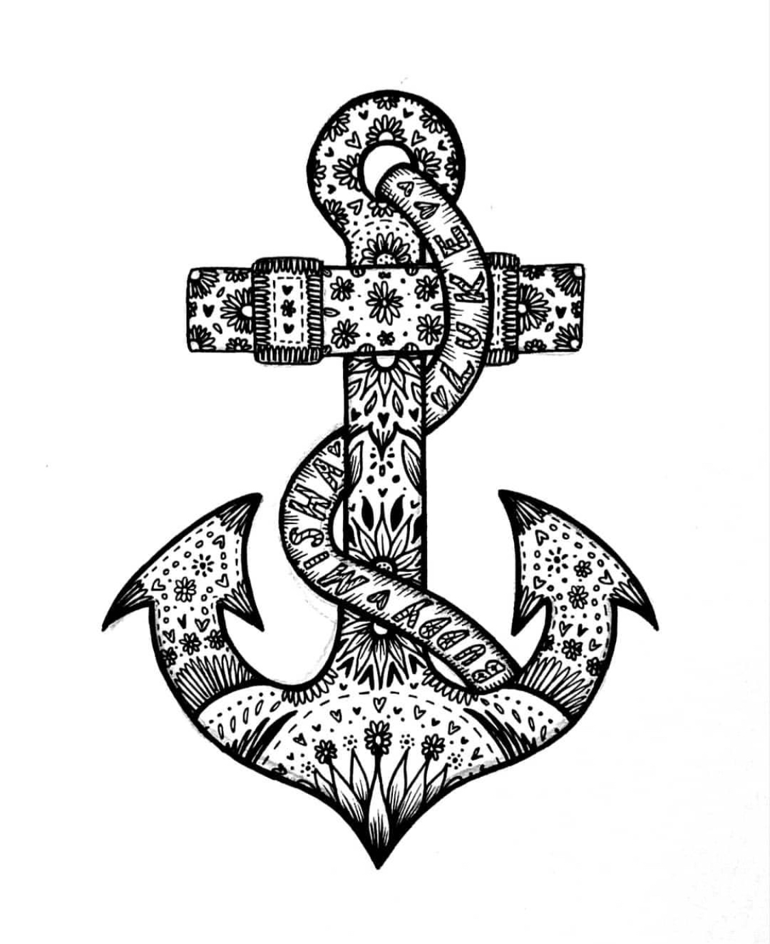 Sophie Bishop - Artwork - Anchor