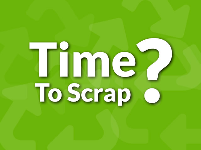 Is it time to scrap your boat?