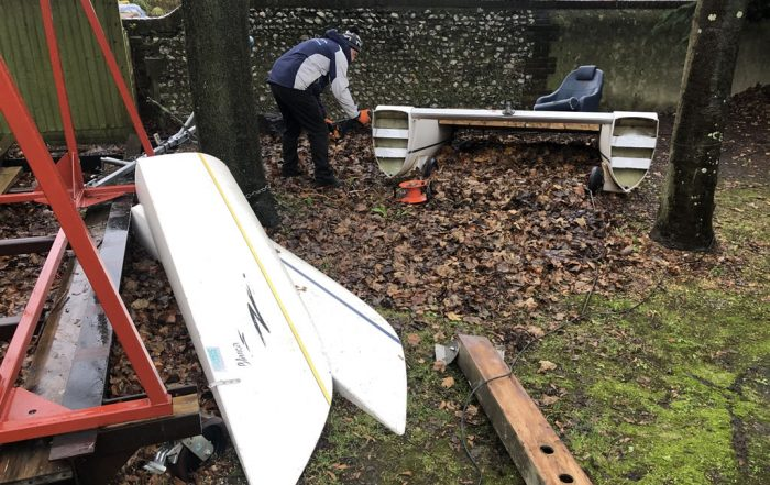 Catamaran Chop: Dart 18 Disposal in Portchester