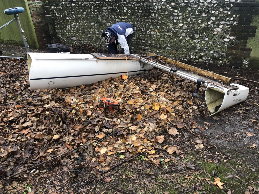 Catamaran Chop: Dart 18 Disposal in Portchester