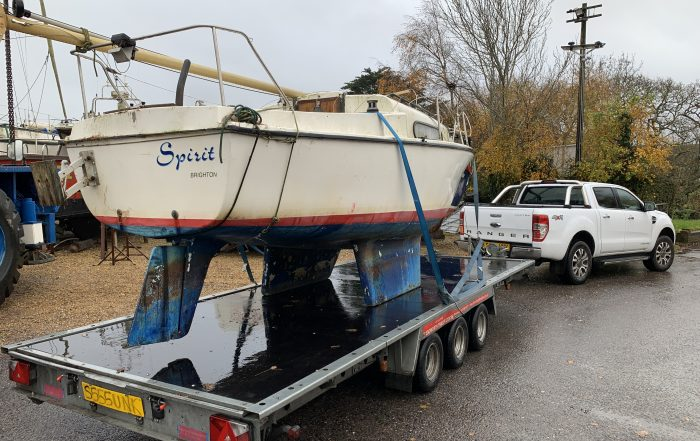 Yacht Collection From Wilson's Boatyard Hayling Island