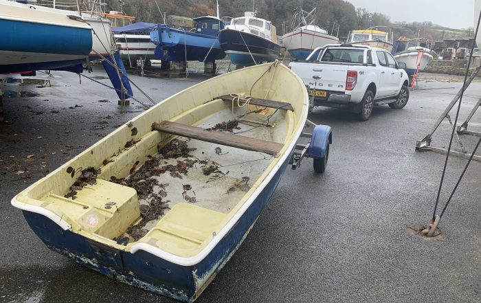 Small Boat Collection from Plymouth