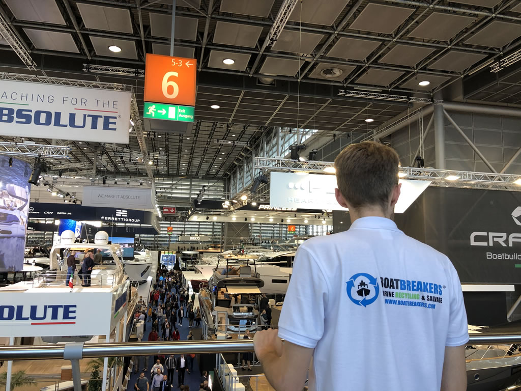 Boatbreakers at Boot Dusseldorf