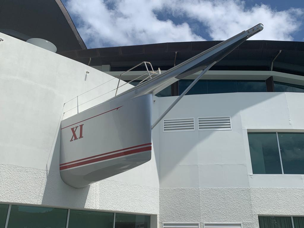 Wall Mounted Boat Bow Section