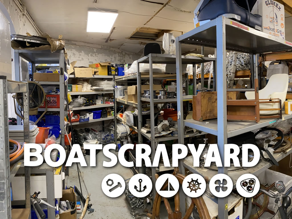 find bargin deals on used boat parts at boatscrapyard