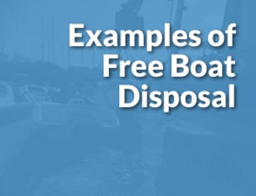 Free Boat Disposal: It Doesn't Always Cost