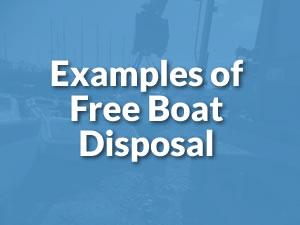 reasons to scrap - example of free boat disposal