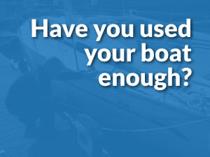 Reasons to Scrap - have you used your boat enough