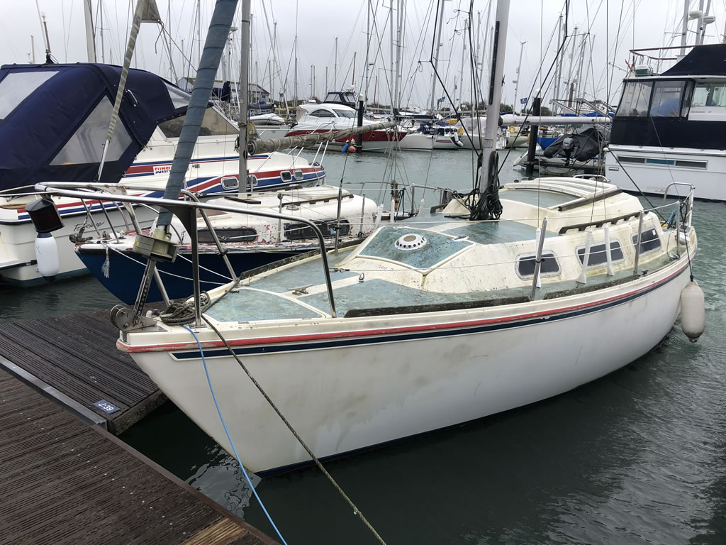 boat disposal jaguar 25 yacht