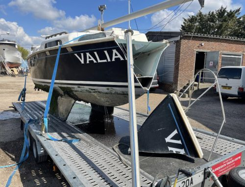 Boatbreakers Hat-trick of Yacht Disposal