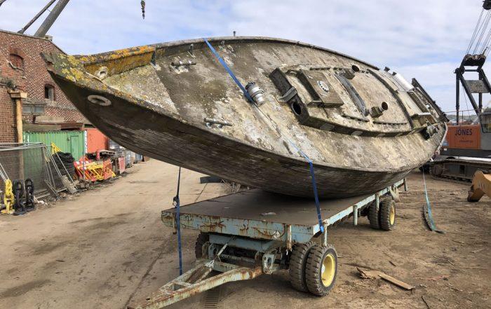 boatscrapyard members react to belmore yacht disposal