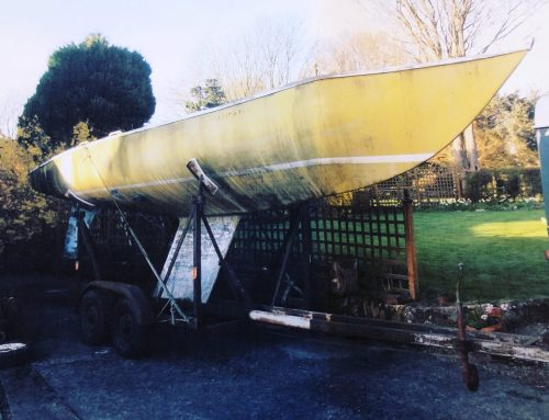 Soling Solorana Racing Yacht Collected From North Yorkshire