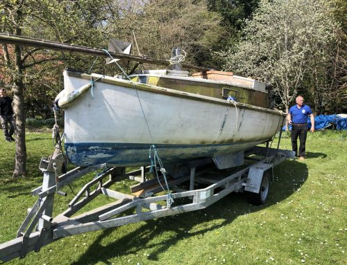 Four Scrap Boat Collection from Abingdon
