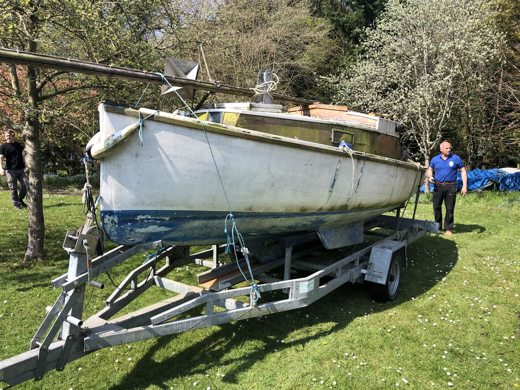 four scrap boat collection