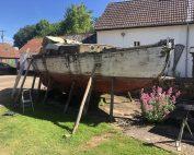 Boatbreakers Devon Wooden Yacht Scrap