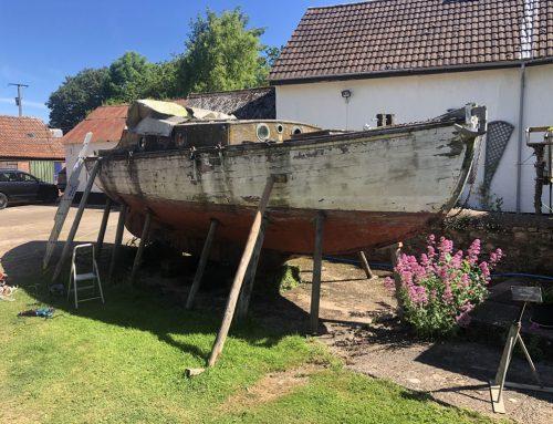 Boatbreakers Devon Wooden Yacht Disposal
