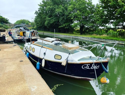Westerly Nomad Yacht Collected for Disposal from London