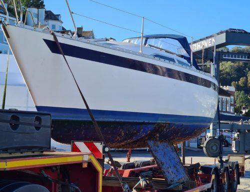 Moody 27 Yacht Disposal in Devon
